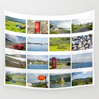 scotland Wall Tapestries featuring Scotland by Basma Gallery