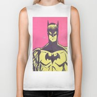 bats Biker Tanks featuring Bats by Michael Fitzgerald Troy