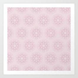 pattern 5 v2 Art Print