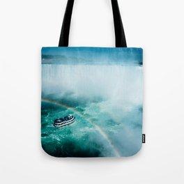 Niagara Falls Rainbow Tote Bag
