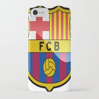barcelona iPhone & iPod Cases featuring BARCELONA by Acus