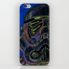 dark stormtrooper with 4 eyes iPhone & iPod Skin
