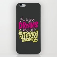 Stinky Business iPhone Skin