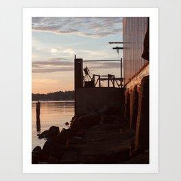 Sunrise Beach - cm2b Photography (3 of 7) Art Print