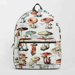 Adolphe Millot - Champignons pour tous - vintage poster Backpack