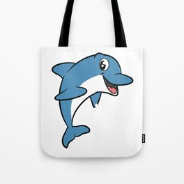 Love dolphins, I love dolphins T-shirt Dolphin are the animals, the mammals. Love Dolphins Tote Bag