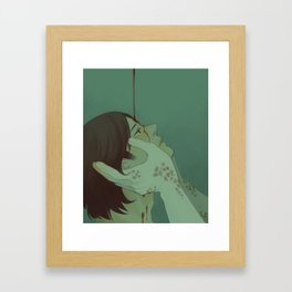 Annointed by Blood (Supernatural) Framed Art Print