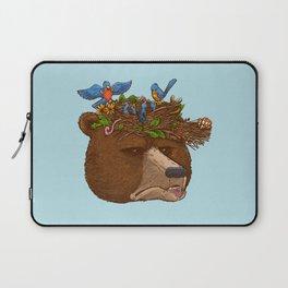 Mr Bear's Nature Hat 2017 Laptop Sleeve