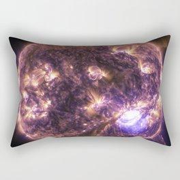 solar flairs Rectangular Pillow