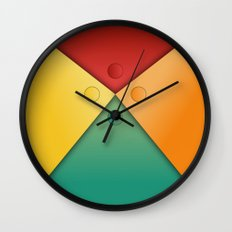 Letter tie Wall Clock