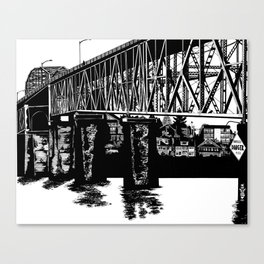 Manette Bridge Canvas Print