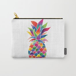 Watercolour Pineapple Carry-All Pouch