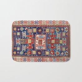 Karachov Kazak Caucasian Antique Carpet Print Bath Mat