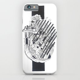 abstract music iPhone Case