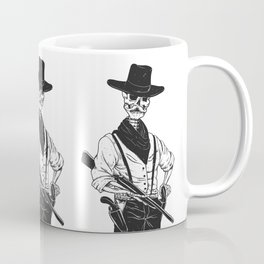 Sheriff with mustache and rifle Coffee Mug