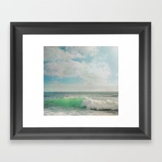The Painted Sea Framed Art Print