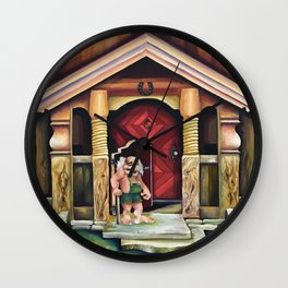 Equinus Scandinavian troll Wall Clock