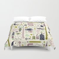 occult Duvet Covers featuring The Witch's Collection by LordofMasks