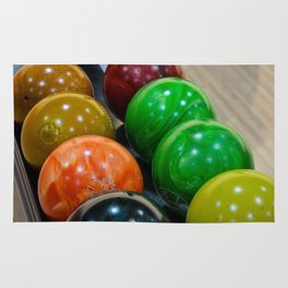 Bowling Balls Rug