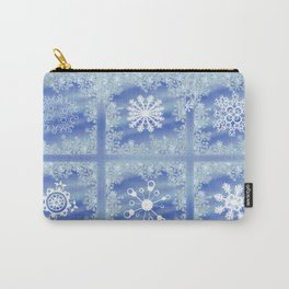 Frosted Panes Carry-All Pouch