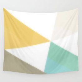 Geometric Abstraction - original abstract art Wall Tapestry