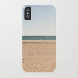Sand, sea, sky iPhone Case