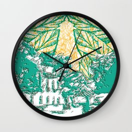 Céu do avesso Wall Clock