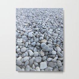Capri Pebbles Metal Print