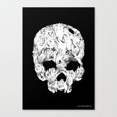 Shirt of the Dead Canvas Print