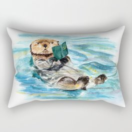 Otter Rectangular Pillow