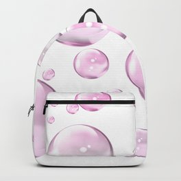 Pretty Pink Bubbles Backpack