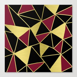 Golden Triangles Canvas Print