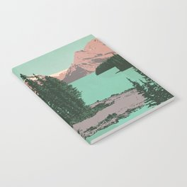 Jasper National Park Poster Notebook