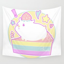 Sweet Hamster Wall Tapestry