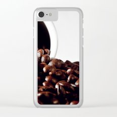 coffee addiction Clear iPhone Case