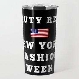 Beauty Rebel NYFW Tote (Black) Travel Mug