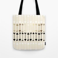 arrows Tote Bags featuring Arrows by Tangerine-Tane