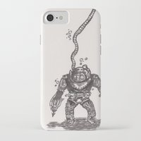 scuba iPhone & iPod Cases featuring Scuba by The A B Project