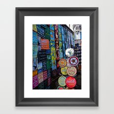 Show Me The Way Framed Art Print