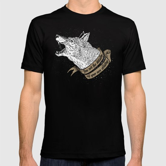 Wolf Protector (Black n Bronze collection) T-shirt