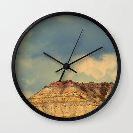 Touching The Sky Wall Clock