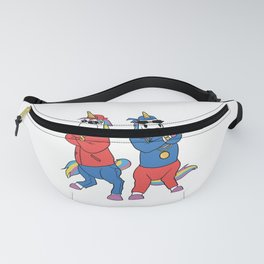 Funny Unicorn Gangster design - perfect present Fanny Pack