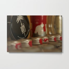 Bottle caps & Afri Cola Metal Print