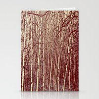 birch Stationery Cards featuring Birch by Indigo Rayz