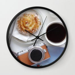 Refreshment while travel Wall Clock
