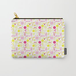 Pinky Pink Lemonade Carry-All Pouch
