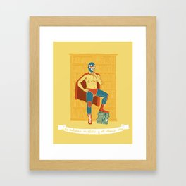 Lucha Library Framed Art Print