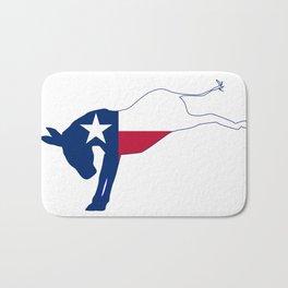 Texas Democrat Donkey Flag Bath Mat