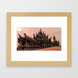 The Sanctuary of Truth Framed Art Print