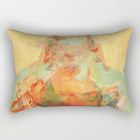 La Mujer y los Elementos Rectangular Pillow